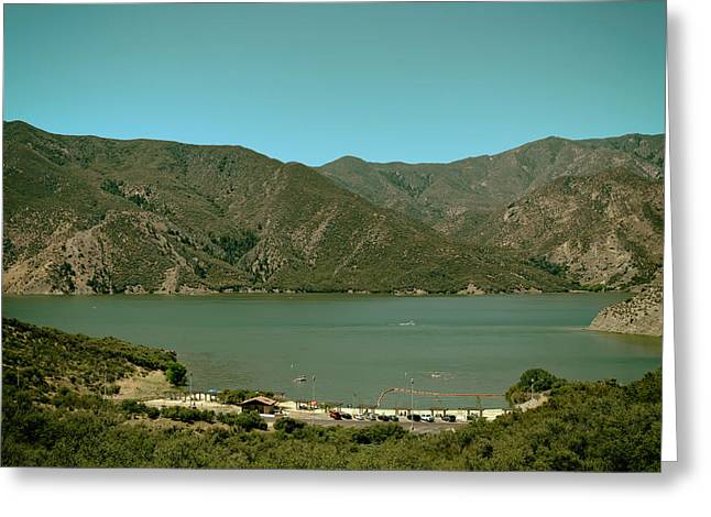 Pyramids Greeting Cards - Pyramid Lake Reservoir - California Greeting Card by Mountain Dreams