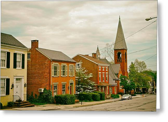 Wrightsville Greeting Cards - Quaint Wrightsville Pennsylvania Greeting Card by Mountain Dreams