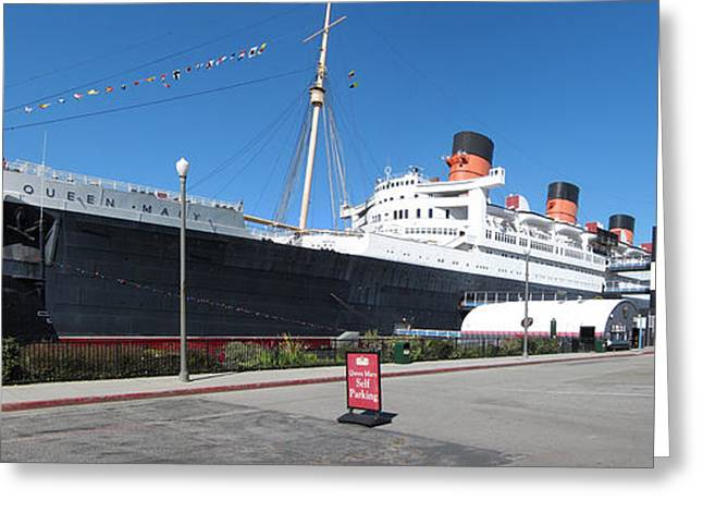 Mary Greeting Cards - Queen Mary - 12121 Greeting Card by DC Photographer