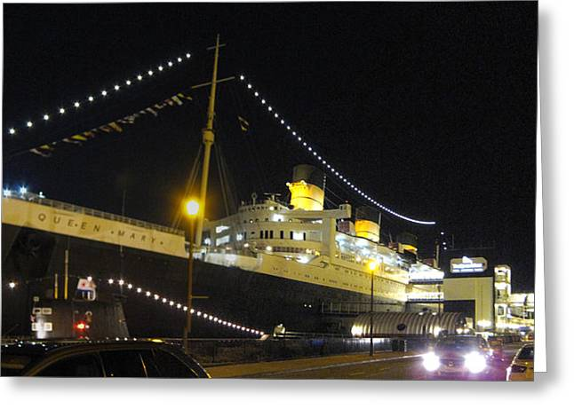 Queen Mary - 12122 Greeting Card by DC Photographer