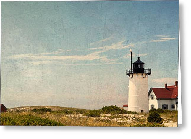 Race Point Greeting Cards - Race Point Light Greeting Card by Bill  Wakeley