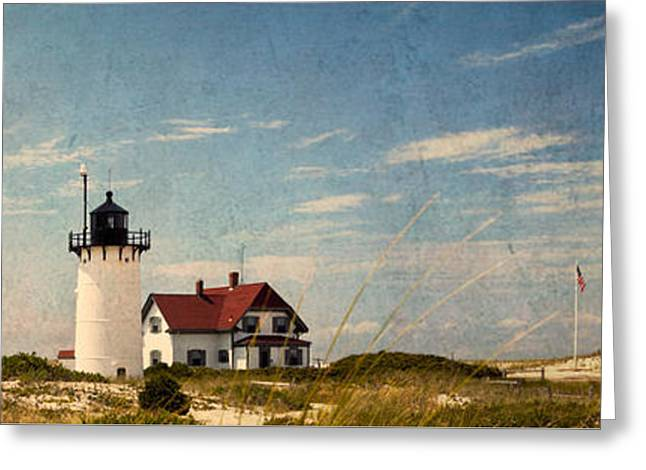 Race Point Light Greeting Card by Bill Wakeley
