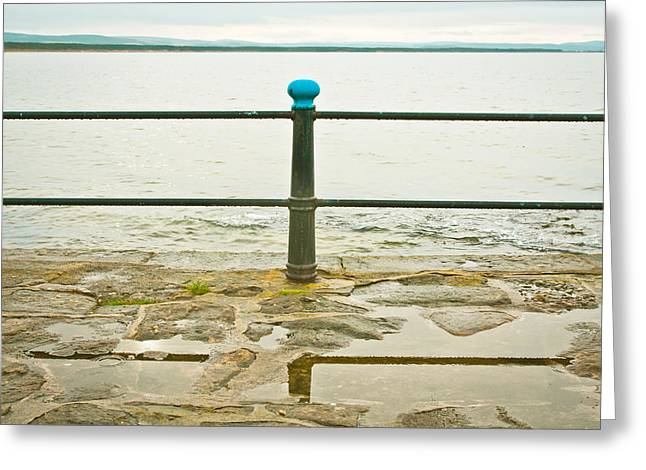 Conditions Photographs Greeting Cards - Railings Greeting Card by Tom Gowanlock