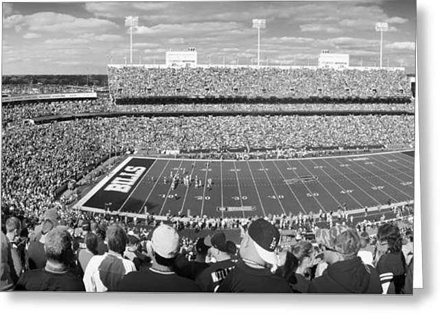 Ralph Wilson Stadium - Home Of The Buffalo Bills Greeting Card by Pixabay