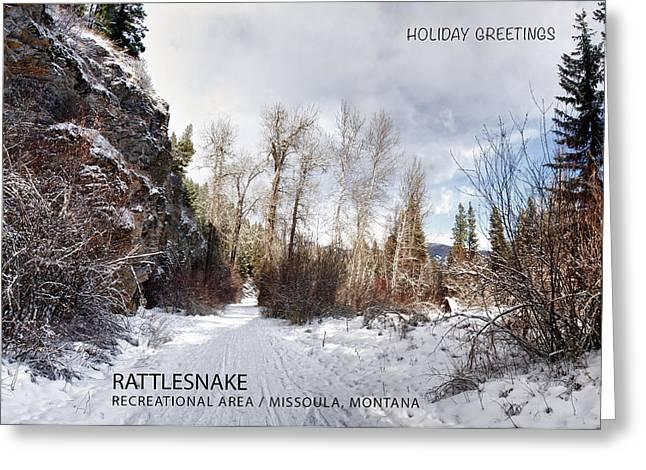 Christmas Greeting Greeting Cards - Rattlesnake Greeting Card Greeting Card by Dariusz Janczewski