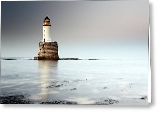 Scottish Scenic Greeting Cards - Rattray Head Lighthouse  Greeting Card by Grant Glendinning