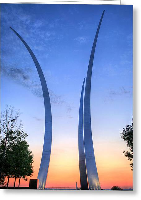 James Findley Greeting Cards - Reaching Skyward Greeting Card by JC Findley