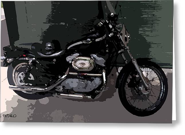 Smooth Ride Greeting Cards - Ready to Ride Greeting Card by George Pedro