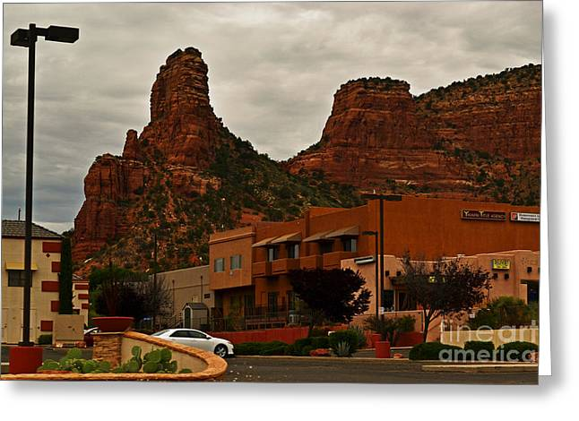 Hallmark Greeting Cards - Red Rock Country Greeting Card by Beverly Guilliams