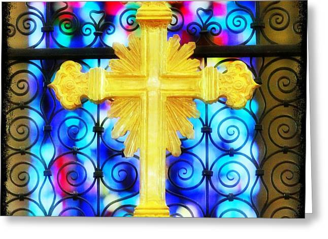 Saint Hope Greeting Cards - Redeemed Greeting Card by Stephen Stookey