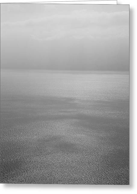 Seascape Photography Photographs Greeting Cards - Reflection Of Clouds On Water, Lake Greeting Card by Panoramic Images