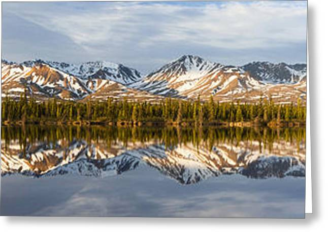 Reflex Greeting Cards - Reflections in Alaska Greeting Card by Javier Fores