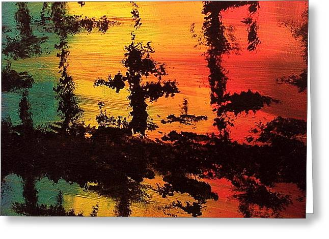 Reflections Greeting Card by Lisa Williams