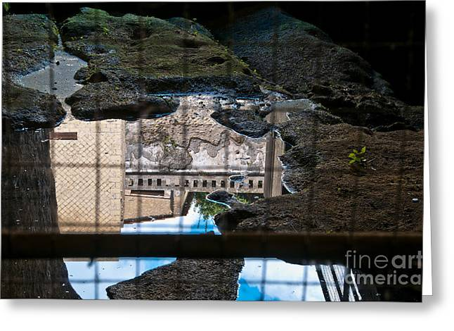 Naples Italy Greeting Cards - Reflections Greeting Card by Marion Galt