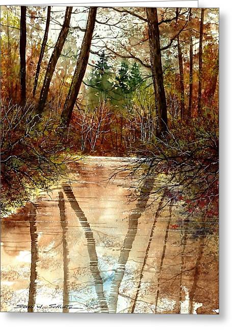 Reflections Greeting Card by Steven Schultz
