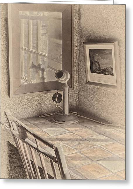 Tools Greeting Cards - Reflections Greeting Card by Susan Candelario