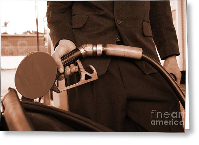 Refuelling Greeting Cards - Refuelling Greeting Card by Ryan Jorgensen