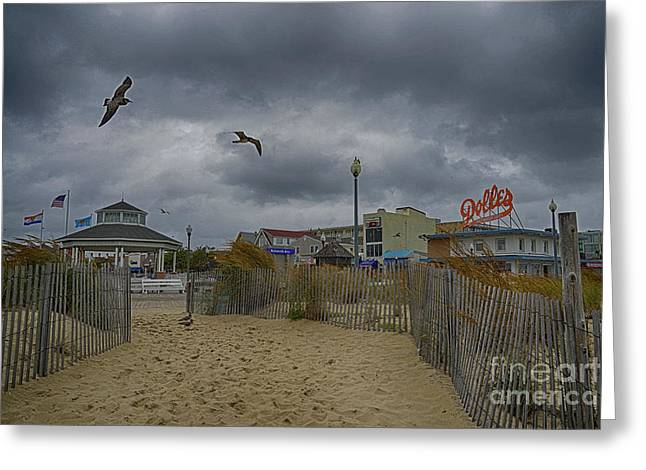Flyer Greeting Cards - Rehoboth Beach DE 13 Greeting Card by Jack Paolini
