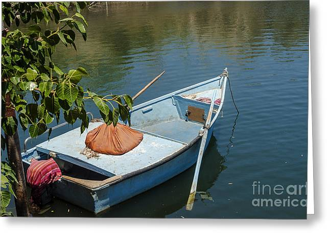 Reflections Greeting Cards - Relaxation time 02 Greeting Card by Arik Baltinester