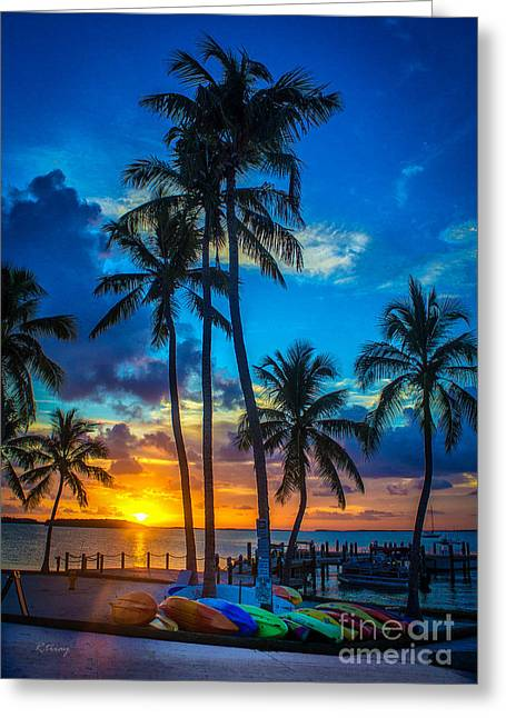 Isla Morada Greeting Cards - Daydream Believer Greeting Card by Rene Triay Photography