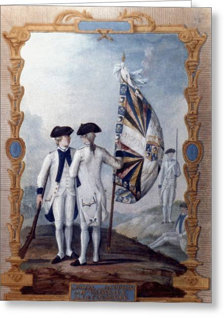 Gouache Photographs Greeting Cards - Revolutionary War, 1780 Greeting Card by Granger