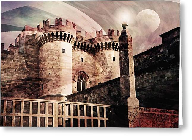 Rhodes Greeting Cards - Rhodes Greeting Card by Diana Angstadt