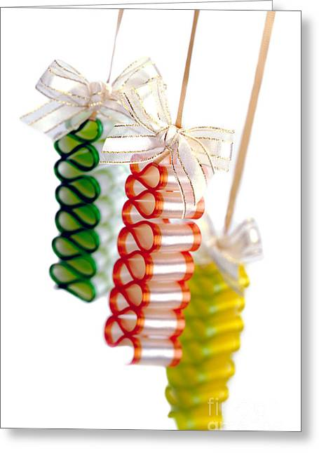 Hard Candies Greeting Cards - Ribbon Candy Greeting Card by Iris Richardson