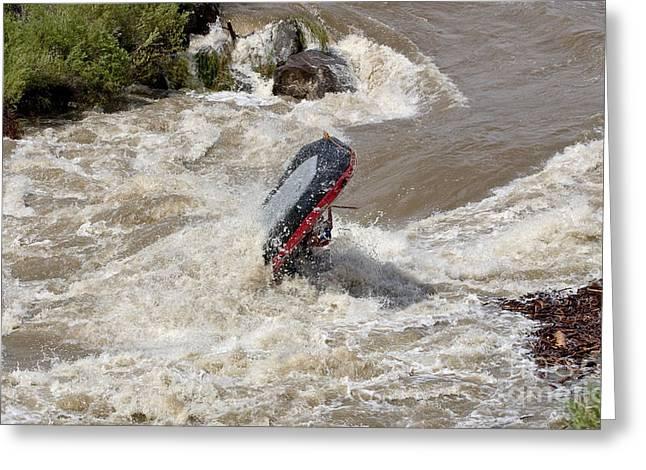 Steven Ralser Greeting Cards - Rio Grande Rafting Greeting Card by Steven Ralser