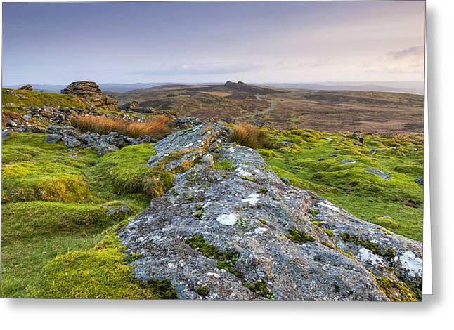Tor Greeting Cards - Rippon Tor Greeting Card by Sebastian Wasek