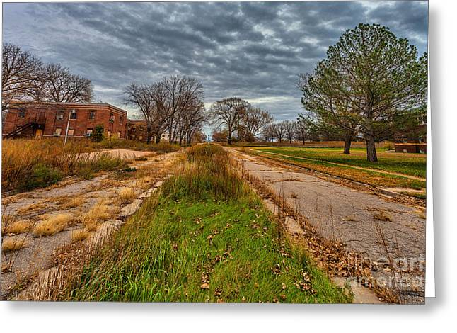 Psychiatric Greeting Cards - Road to Nowhere Greeting Card by Steven Reed