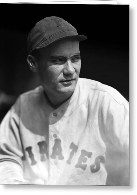 Pittsburgh Pirates Photographs Greeting Cards - Robert E. Earl Grace Greeting Card by Retro Images Archive