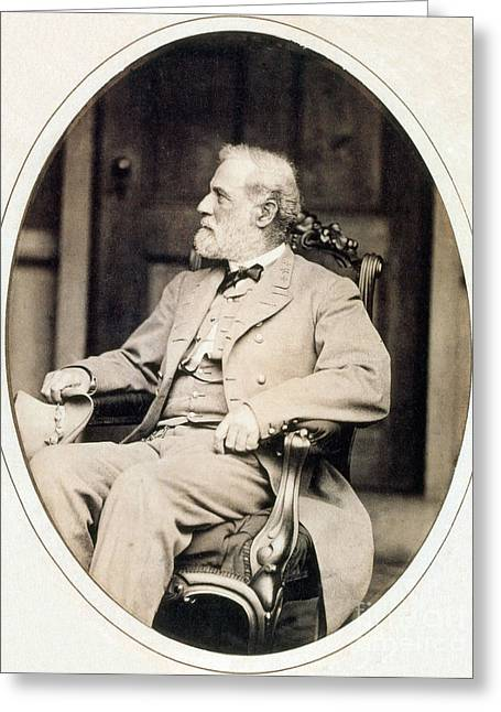 The General Lee Greeting Cards - Robert E. Lee, Confederate Army Greeting Card by Photo Researchers