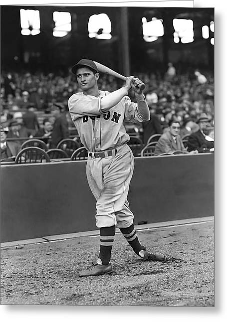 Bobby Doerr Greeting Cards - Robert P. Bobby Doerr Greeting Card by Retro Images Archive