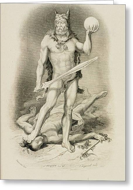 Robinson Crusoe Greeting Card by British Library