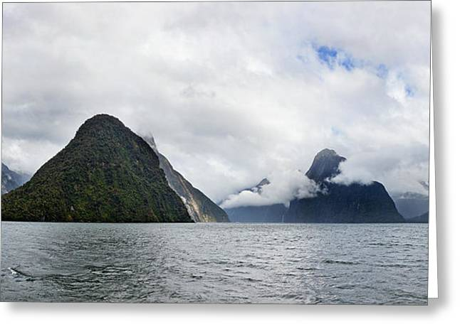 Ocean Photography Greeting Cards - Rock Formations In The Pacific Ocean Greeting Card by Panoramic Images