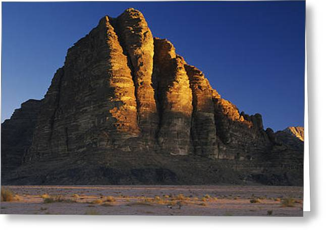 Jordan Hill Greeting Cards - Rock Formations On A Landscape, Seven Greeting Card by Panoramic Images