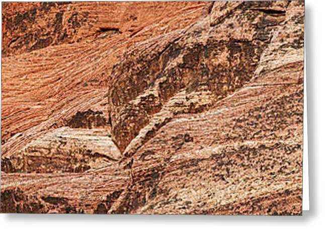 Red Rock Canyon Greeting Cards - Rock Formations, Red Rock Canyon Greeting Card by Panoramic Images