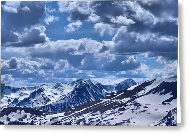 Thin Greeting Cards - Rocky Mountain High Greeting Card by Dan Sproul
