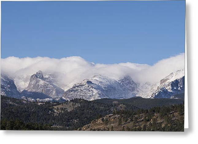 Chasm Lake Greeting Cards - Rocky Mountain National Park - Estes Park Colorado Greeting Card by Brian Harig