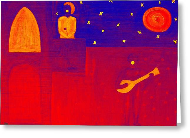 Romeo And Juliet Greeting Cards - Romeo And Juliet 2 Greeting Card by Patrick J Murphy