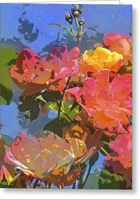 Rose 208 Greeting Card by Pamela Cooper