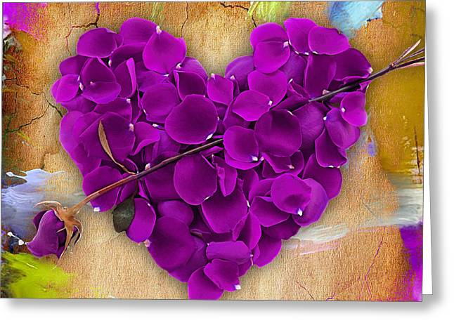 Rose Petals Greeting Cards - Roses Collection Greeting Card by Marvin Blaine