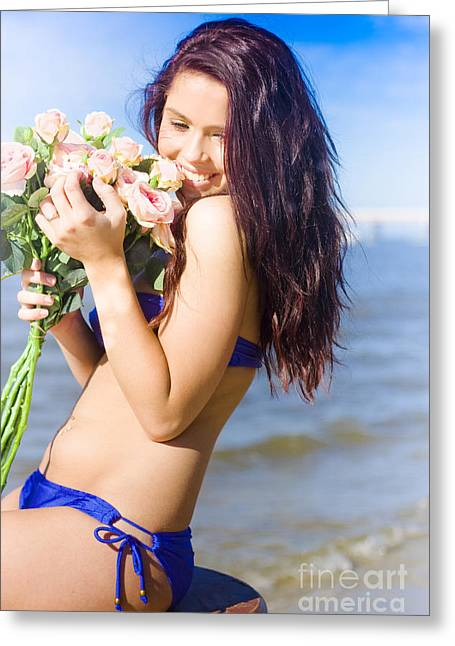 Youthful Photographs Greeting Cards - Roses Greeting Card by Ryan Jorgensen