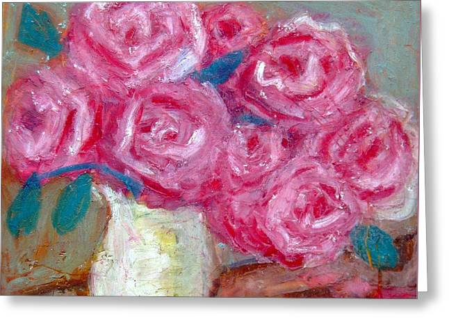21st Pastels Greeting Cards - Roses Greeting Card by Venus
