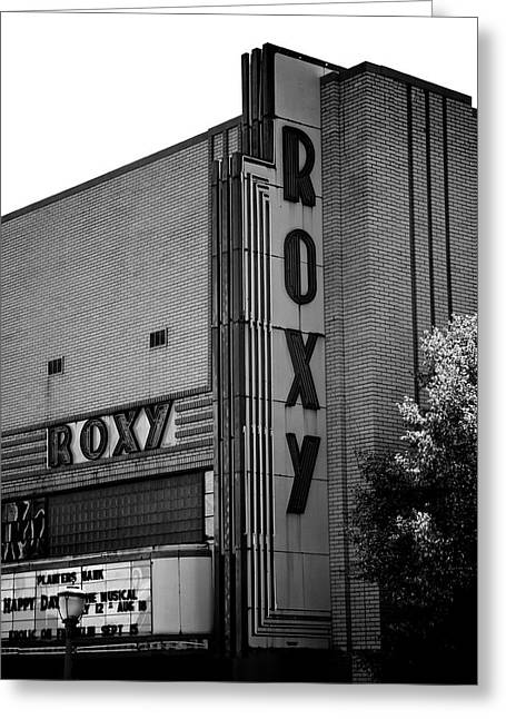 Roxy Greeting Cards - Roxys Greeting Card by Brandon Addis