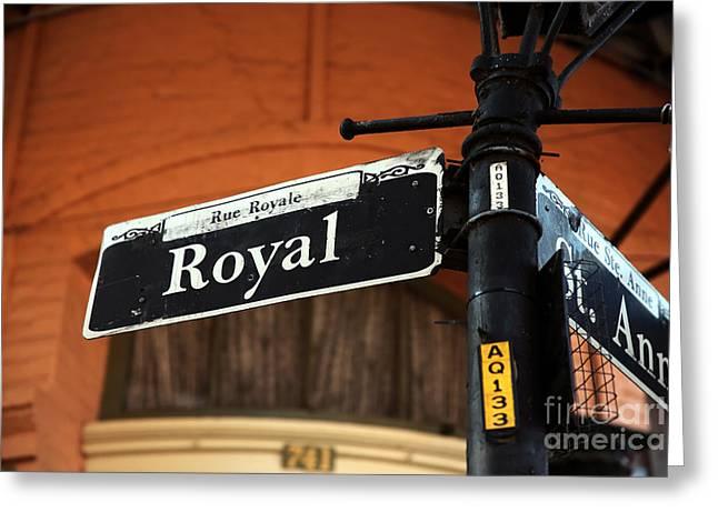 Royal Art Greeting Cards - Royal and St. Ann Greeting Card by John Rizzuto