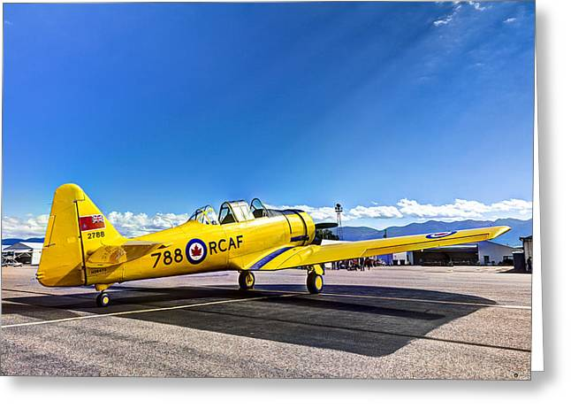 For Sale By Owner Greeting Cards - Royal Canadian AF Harvard Mk. II Greeting Card by John Harwood