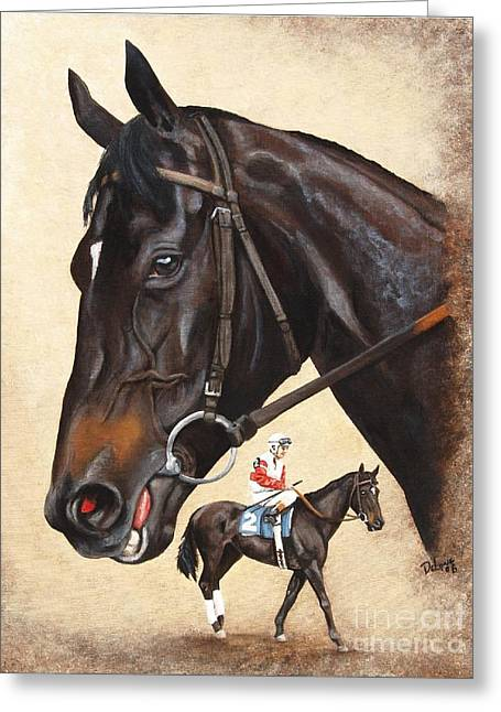 Ruffian Greeting Cards - Ruffian Greeting Card by Pat DeLong