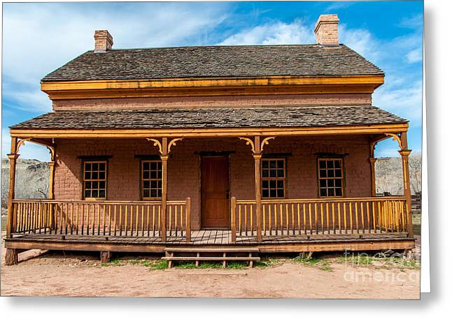 Grafton Greeting Cards - Russell Home - Grafton Ghost Town - Utah Greeting Card by Gary Whitton