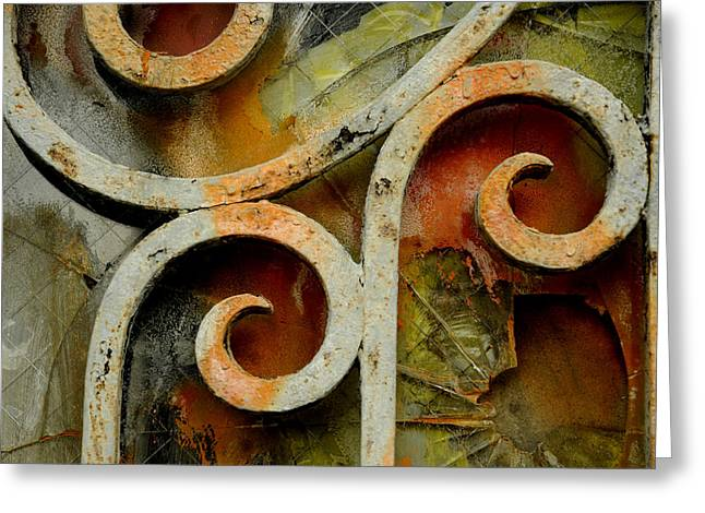 Mike Lindwasser Photography Greeting Cards - Rust Greeting Card by Mike Lindwasser Photography